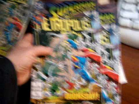 superman comics doomsday death of superman comic books