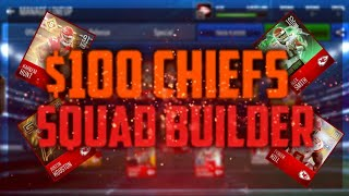 $100 MADDEN MOBILE 18 CHIEFS SQUAD BUILDER Mp3