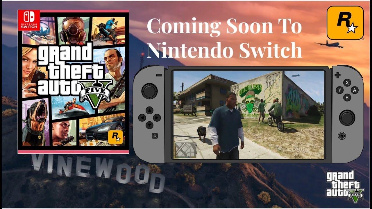 Grand Theft Auto 5 Nintendo Switch Port Trailer Official Trailer