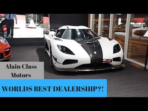 CAR SHOPPING DUBAI // ALAIN CLASS MOTORS