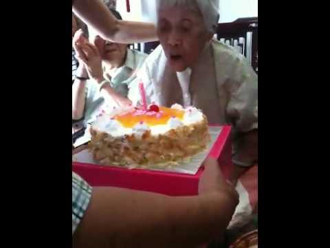 Ah ma's 100th birthday, 16.5.2010