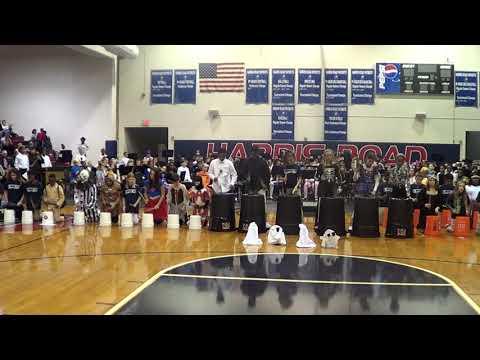 Harris Road Middle School Bucket Band