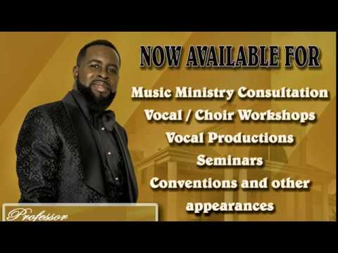 Professor Belton and Company sings He is a keeper in concert