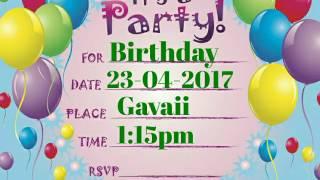 "Birthday party of """"Fahad Malik"""" (At Gavaii restaurant Russia)23-04-2017"