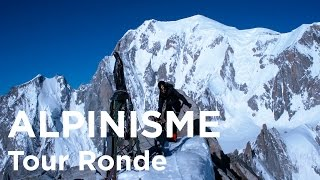 Voie normale de la Tour Ronde Chamonix Mont-Blanc alpinisme - 9123