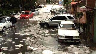 Devastadora granizada deja varios muertos y severos daños en Coacalco, Edomex