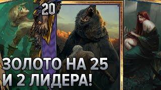 Гвинт - пачка карт с 41 по 60. 2 новых лидера и дикое золото! Gwent news