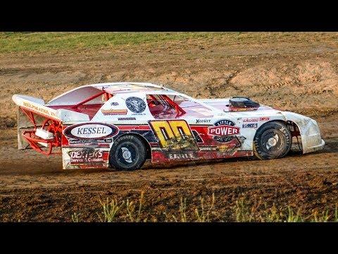 Victor Earle Jr. #00   In-Car Camera   Genesee Speedway   9-16-17