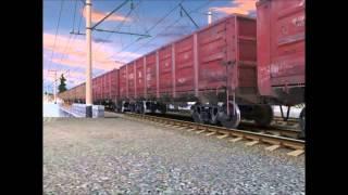 Клип про Российские поезда в Trainz