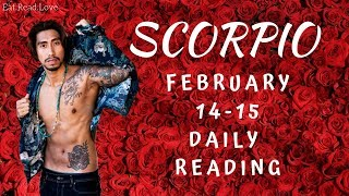 """SCORPIO SOULMATE """"BE CAREFUL FOR WHAT YOU WISH FOR"""" FEB 14-15 DAILY TAROT READING"""