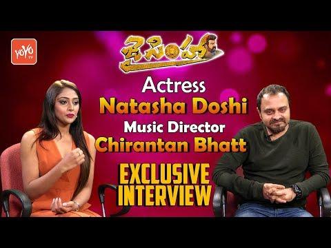 Jai Simha Actress Natasha Doshi, Music Director Chirantan Bhatt  Exclusive Interview   YOYO TV