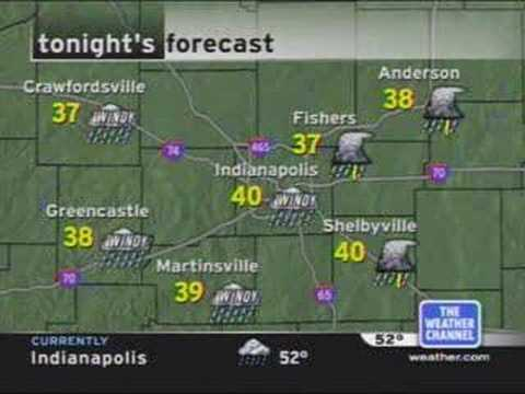 TWC - Local Forecast, Indianapolis (April 2005)