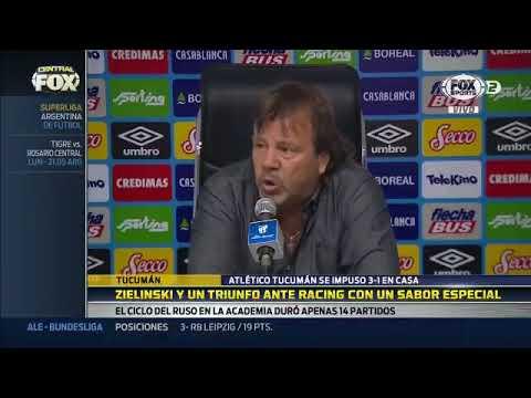 """Zielinski post victoria a Racing: """"Hoy fuimos muy efectivos"""""""