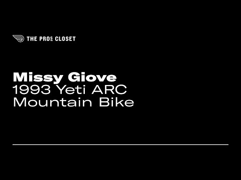 Missy Giove S 1993 Yeti Arc Mountain Bike Youtube