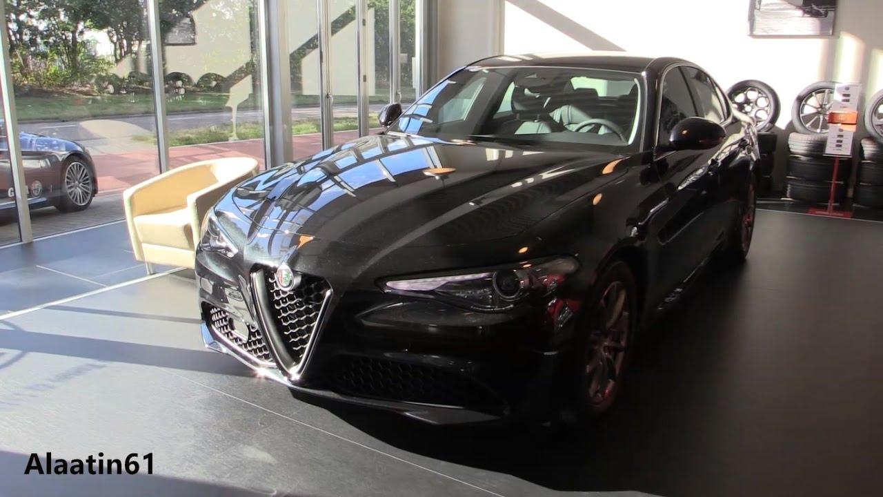 2017 Alfa Romeo Giulia Pov Drive In Depth Review Interior Exterior Youtube