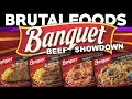 Banquet Beef Showdown - TV Dinner Reviews - brutalfoods