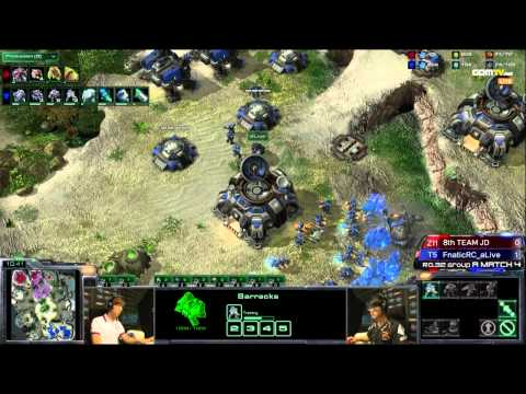 [WCS KR] Jaedong vs Alive Game 2