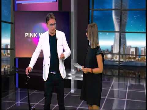 Dejan Marinkovic - Gostovanje na TV Pink - Pink World News