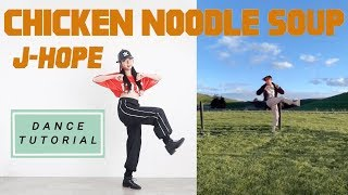 Download lagu J-HOPE 'CHICKEN NOODLE SOUP' Dance Tutorial (Mirrored + Explained) | @jing.h