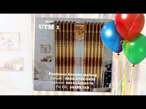 8, interior gorden minimalis modern terbaru 2013, jual gorden di malang, jual gorden jendela minimal
