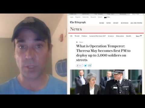 Operation Temperer, David Cameron Fearful Impression Government Lost Control, Martial Law