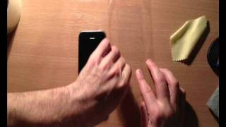 видео Повторно наклеить защитную пленку на телефон