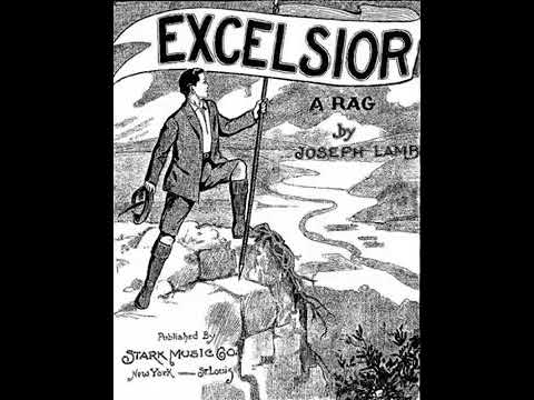 1909 Joseph Lamb Excelsior Rag