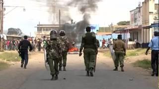 Transport Paralysed In Ntulele, Nakuru Riots