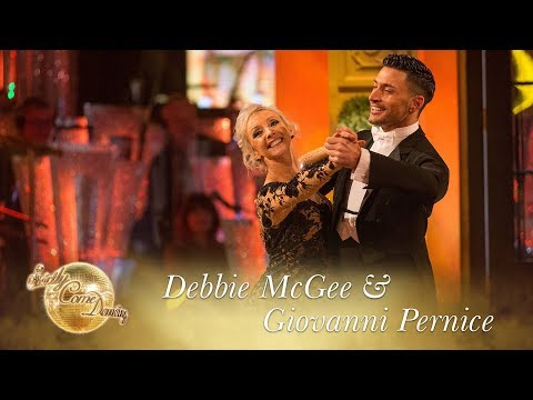 Debbie and Giovanni Foxtrot to 'Isn't She Lovely' by Stevie Wonder - Strictly Come Dancing 2017
