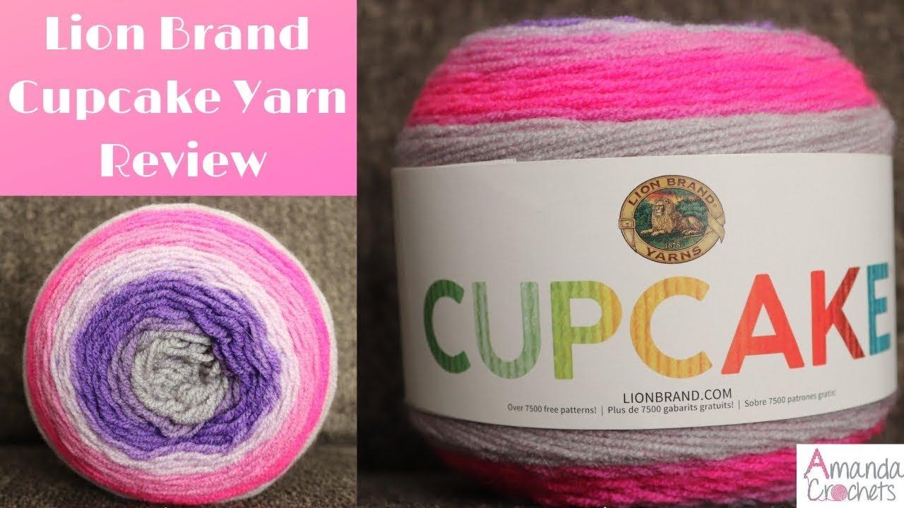 Lion Brand Cupcake Yarn Review Amanda Crochets