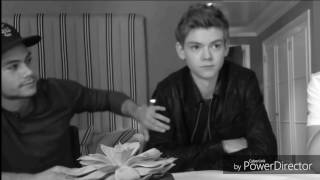 Dylmas - Thomas Sangster & Dylan O'brien - Hold on