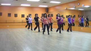 Double U Double D - Line Dance (Dance & Teach in English & 中文)