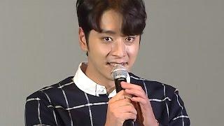 2PMチャンソン「本当にうれしい」主演映画の舞台あいさつに登場!「忘れ雪」特別先行上映会1 #Hwang Chansung #Ito Ohno