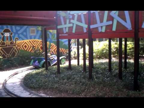 Toren driving a car at busch gardens with ethan 01 youtube