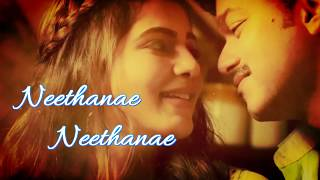 Neethane Neethane Lyrics |fan Made Mersal | Vijay | Samantha