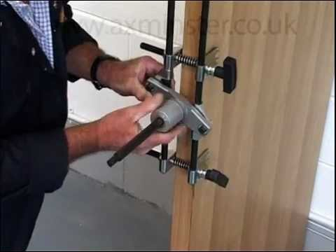 Souber Dbb Mortice Lock Fitting Jig Jig1 Youtube