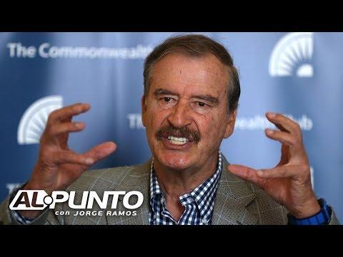 Vicente Fox revela lo que, según él, tienen AMLO y Trump en común