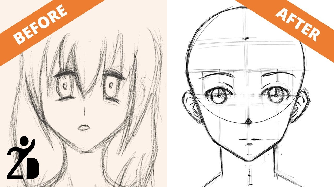 Learn how to Draw Anime with the Rogue Mangaka Method - YouTube