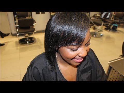 Salon Work Alternative To Brazilian Blowout On 4c Hair Youtube