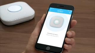 Configuration du détecteur Nest Protect