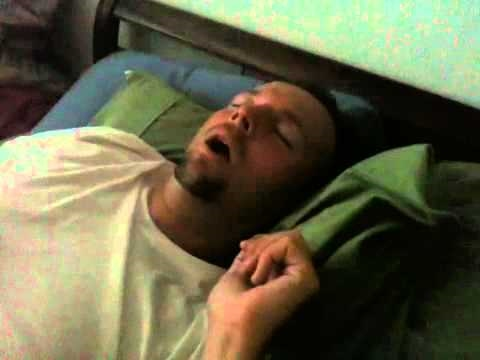 how to stop a man from snoring