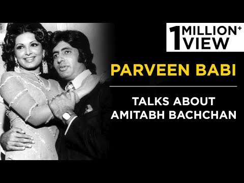Parveen Babi talks about Amitabh Bachchan | Tabassum Talkies