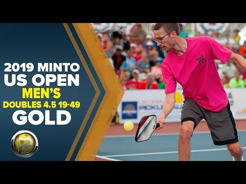 Men's Doubles 4.5, 19-49 GOLD - 2019 Minto US Open Pickleball Championships