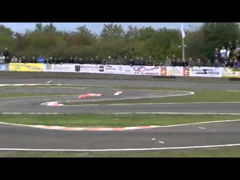 Balestri - Pietsch - 3 laps in main final European Championship 1/8 Luxembourg
