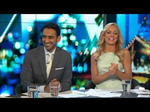 "Russell Brand - LIVE ""Putting Your Dick in Custard"" Australian Tv Interview Oct.16, 2015"