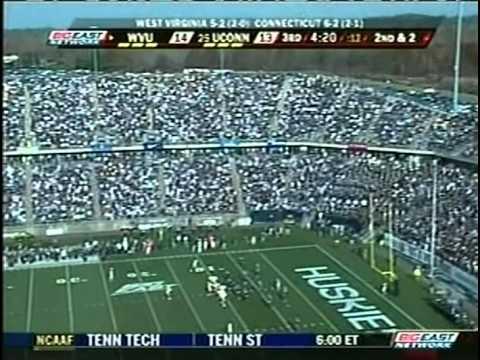 2008 CFB - WVU vs #25 Connecticut - 3rd Quarter