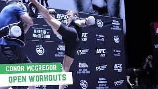 McGregor vs. Khabib: Conor McGregor Full Open Workout