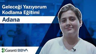 Geleceği Yazıyorum Kodlama Eğitimi - Adana