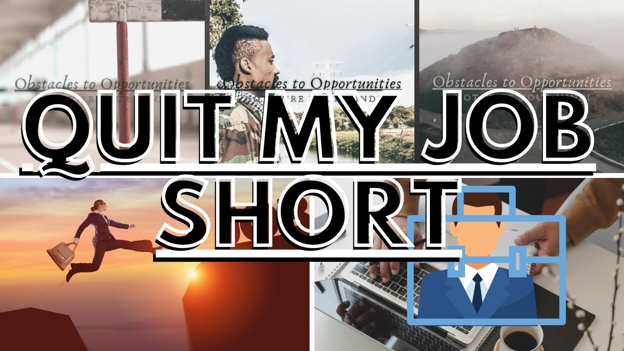 I Quit My JOB /// Dream Chaser /// Ep 001