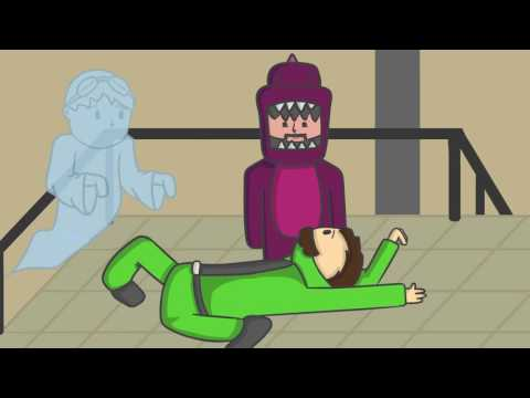 Thumbnail: GIVE HIM CPR!!! | Gang Beasts Animated w/ DanTDM, ThnxCya